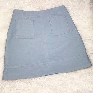 Boden Dorchester Lined Skirt A-Line Zip 12